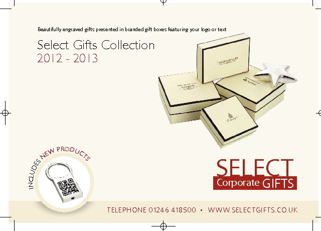 Select Gifts Brochure