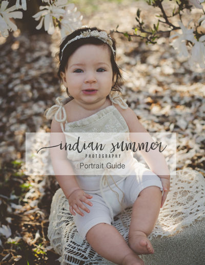 Indian Summer Photography | Portrait Guide