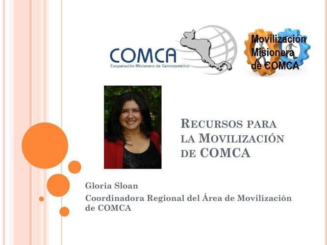 Recursos para la Movilización de COMCA