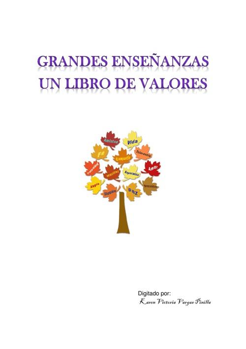 LIBRO DE VALORES