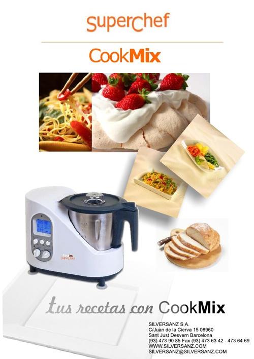 Recetas Superchef CookMix