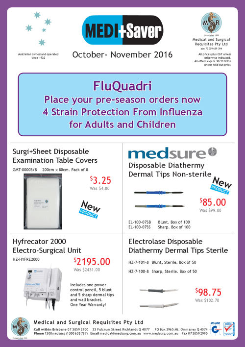 MEDI+Saver October - November 2016