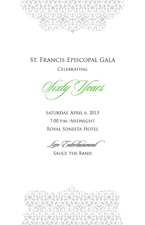 St. Francis Gala Program