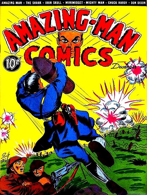 Amazing Man Comics #8