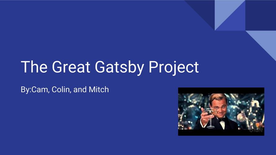 gatsby project