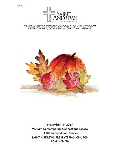 November 19 Bulletin