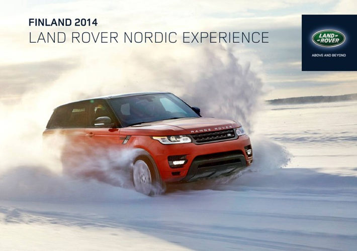 Land Rover Finland 2014 Experience