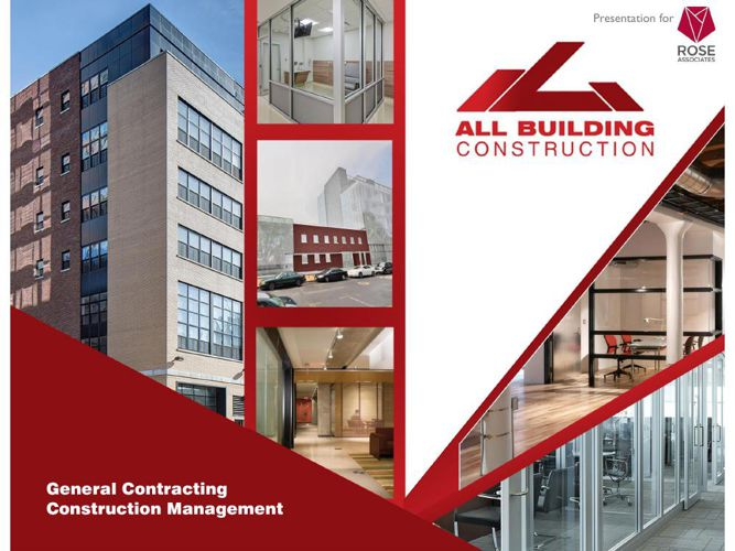 All Building Construction Overview for Rose Associates