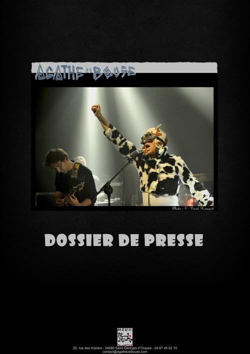 Dossier de presse Agathe Ze Bouse 17/03/2013