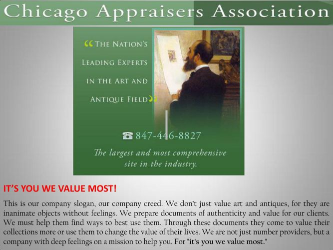 Silver appraisal chicago il