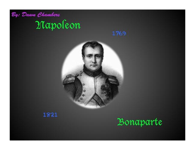 Napoleon Bonaparte: His Life, His Story