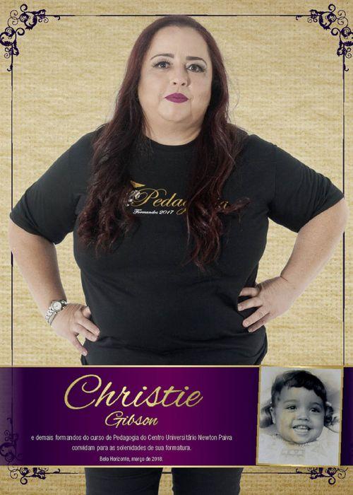 Convite Christie Gibson