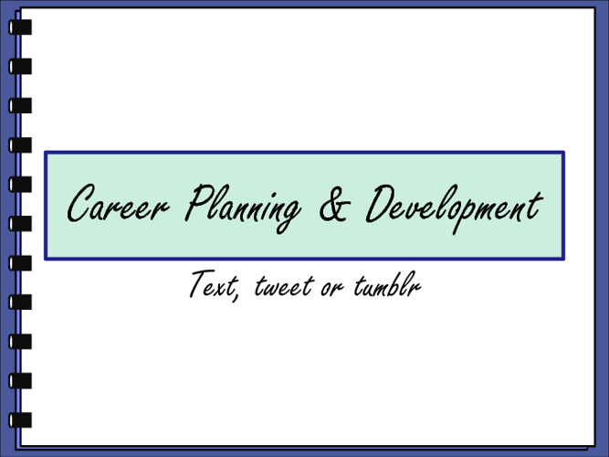 Business Essentials - Career Planning and Development