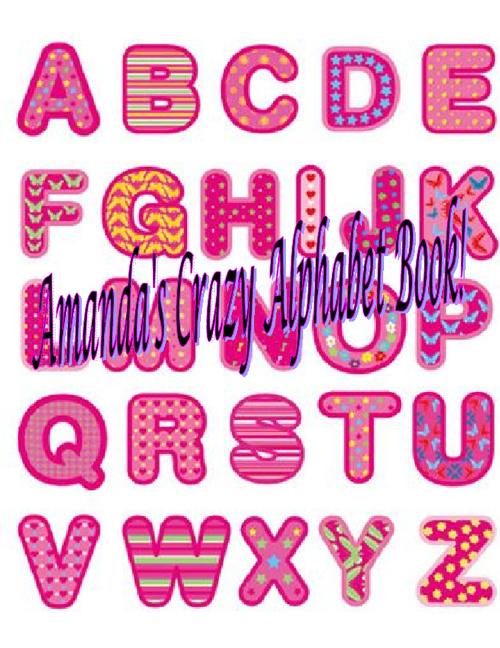 Amanda's Alphabet book