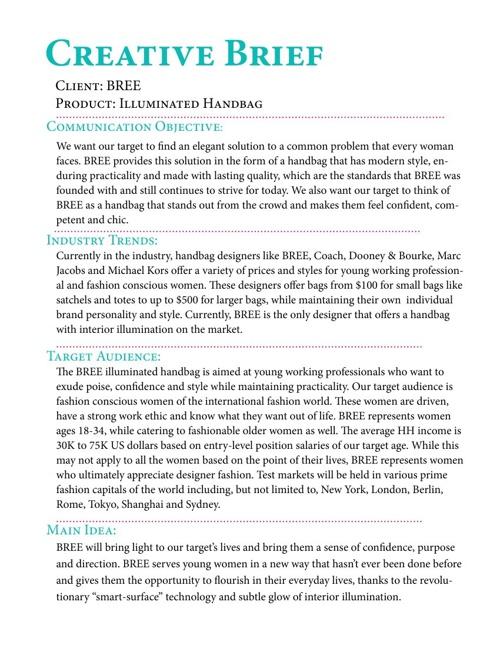 Copy of BREE Campaign