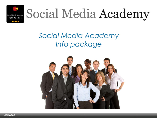 Social Media Academy Strategist Class info  Fall 2011 #SMACAD