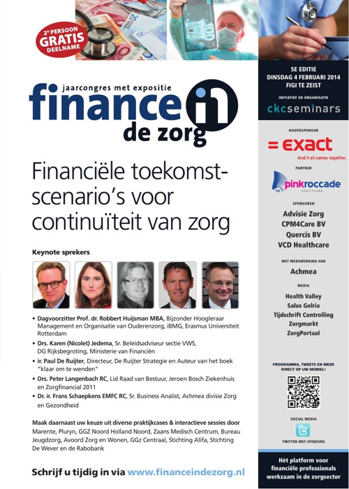 Jaarcongres Finance in de Zorg 2014
