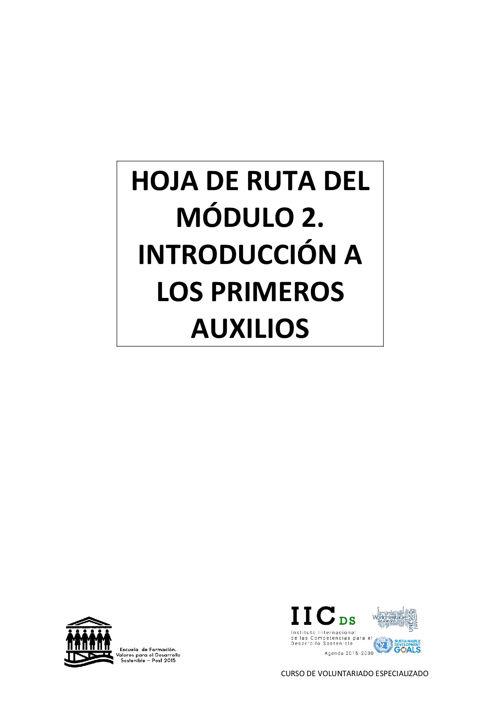 cve HOJA DE RUTA DEL MÓDULO 2