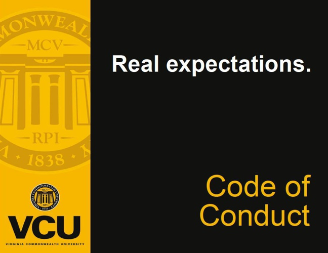 VCU Code of Conduct [FLIPSNACK] flat 1x 2au 1a