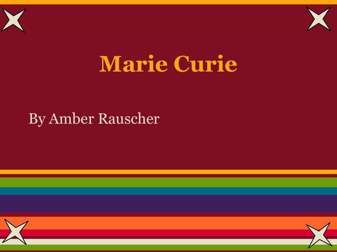 p. 3 Rauscher Curie