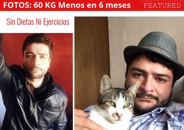 Perder 60kg de Peso en 6 Meses. Fotos: Antes y Después de Abel J