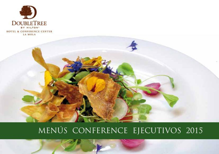 DbT by Hlton La Mola Hotel. Menús Conference Ejecutivos 2015