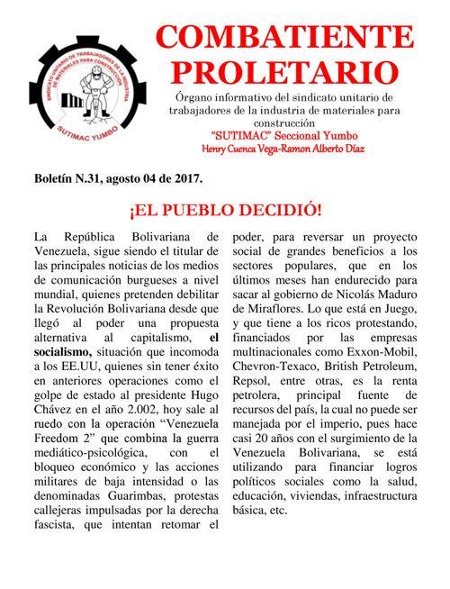 Boletín (31) 2017