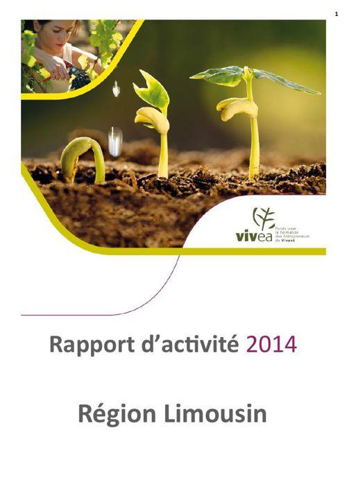 Rapport activité 2014 Limousin