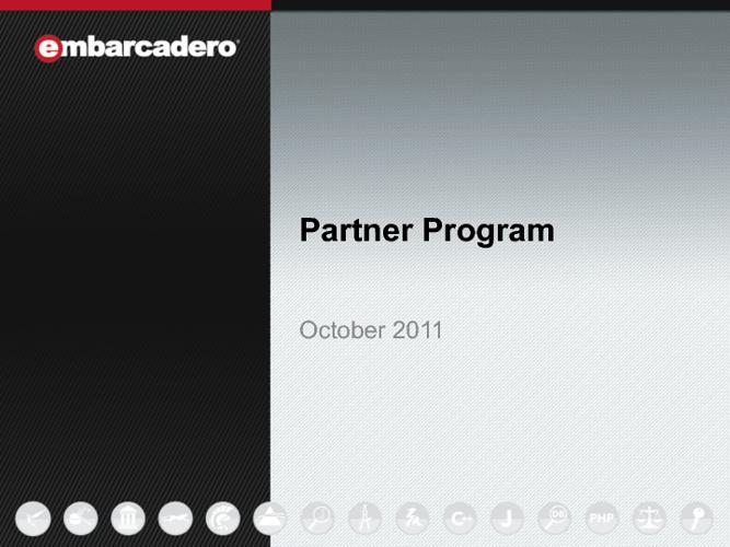Embarcadero Partner Program