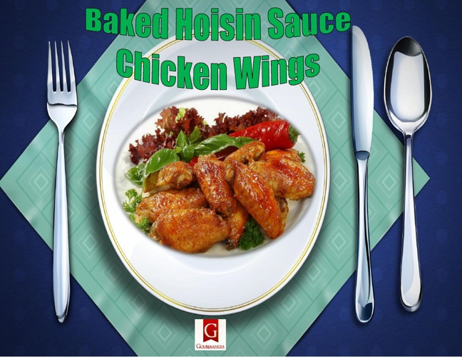 Baked Hoisin Sauce Chicken Wings