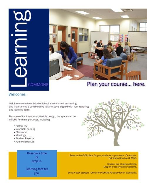 Learning Commons catalog
