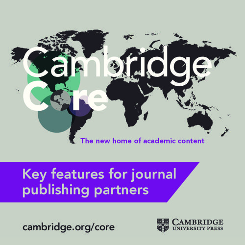 Cambridge Core key benefits for publishing partners