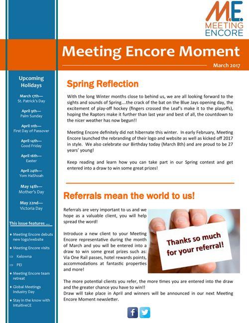 March 2017 - Newsletter Final