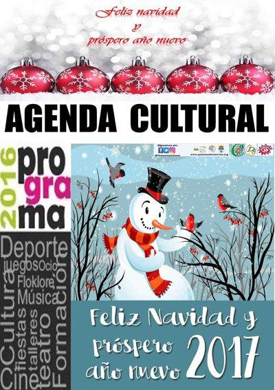 AGENDA CULTURAL A PARTIR DEL 27 DE DICIEMBRE 2016