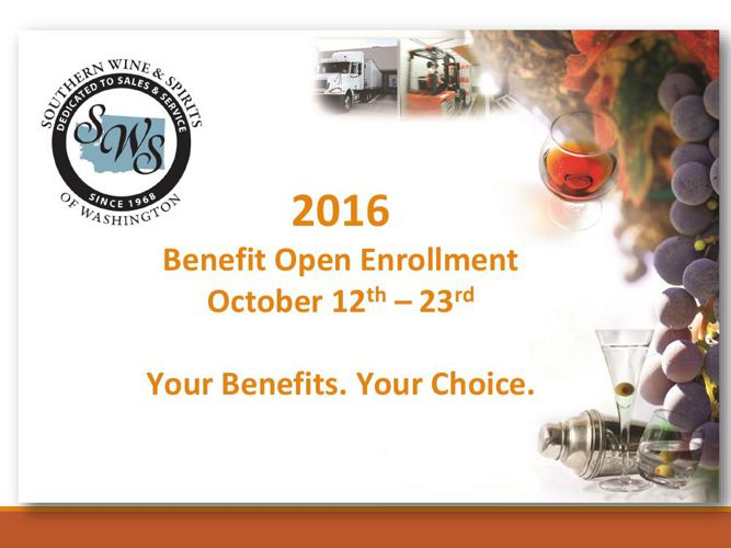 2016 Open Enrollment Changes - Flipsnack WA