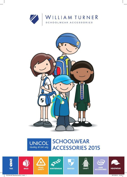 William Turner Schoolwear Brochure 2015