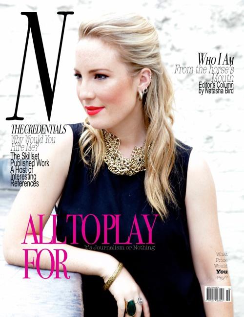 Natasha Bird Magazine CV