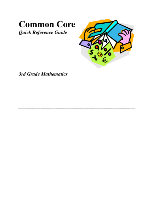 Common Core Quick Reference Guide
