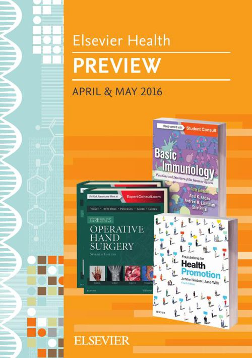 Elsevier Health Preview April & May 2016