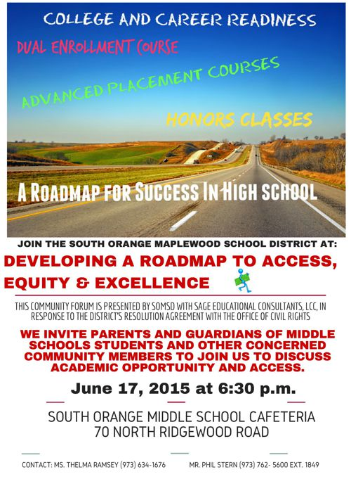A Roadmap for Success in High School