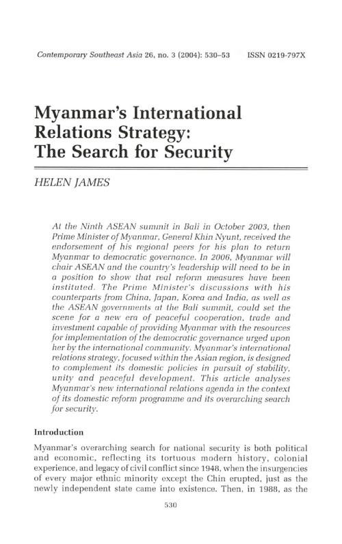 Myanmar Helen James