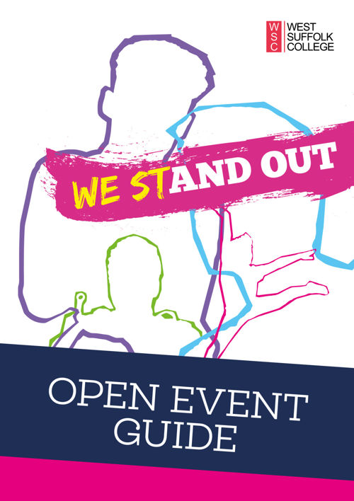Open Event Guide & Map - West Suffolk College