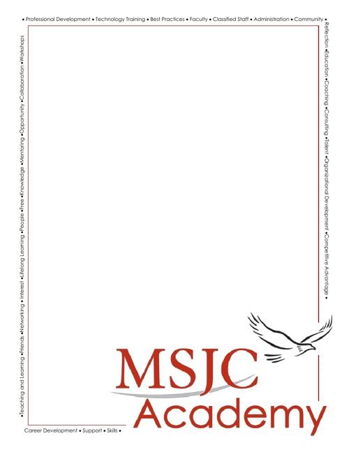 MSJC Academy Notebook