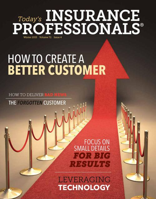 IAIP's Winter 2015 issue of Today's Insurance Professionals