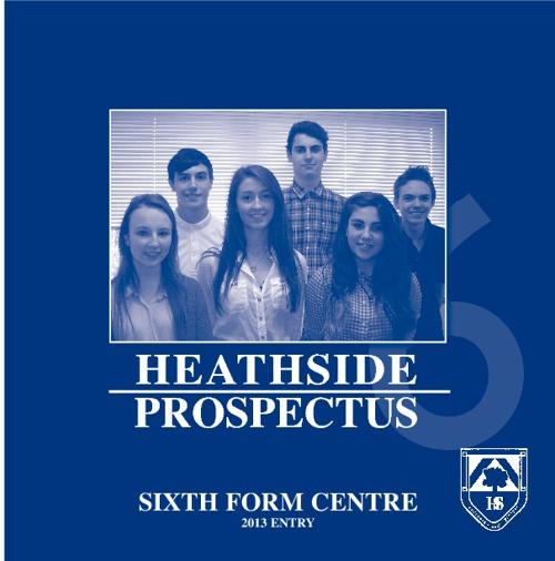 Sixth Form Prospectus 2013