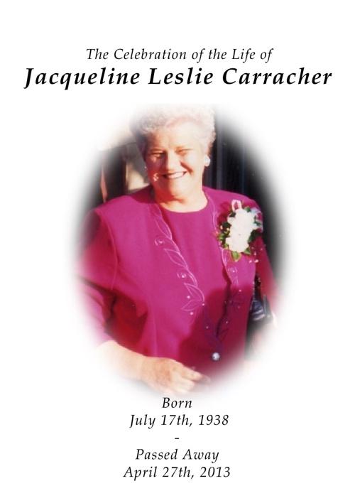 Jacqueline Carracher