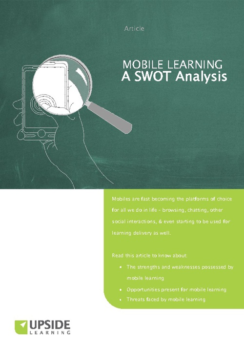 Mobile Learning SWOT Analysis