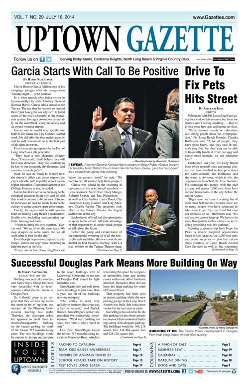 Uptown Gazette  |  July 25, 2014