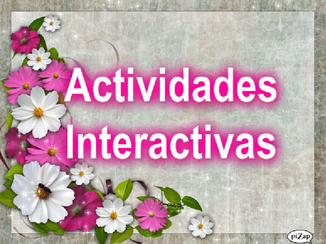 Act. interactivas tema 10º
