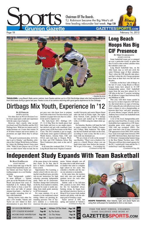 Gazette Sports | February 16, 2012
